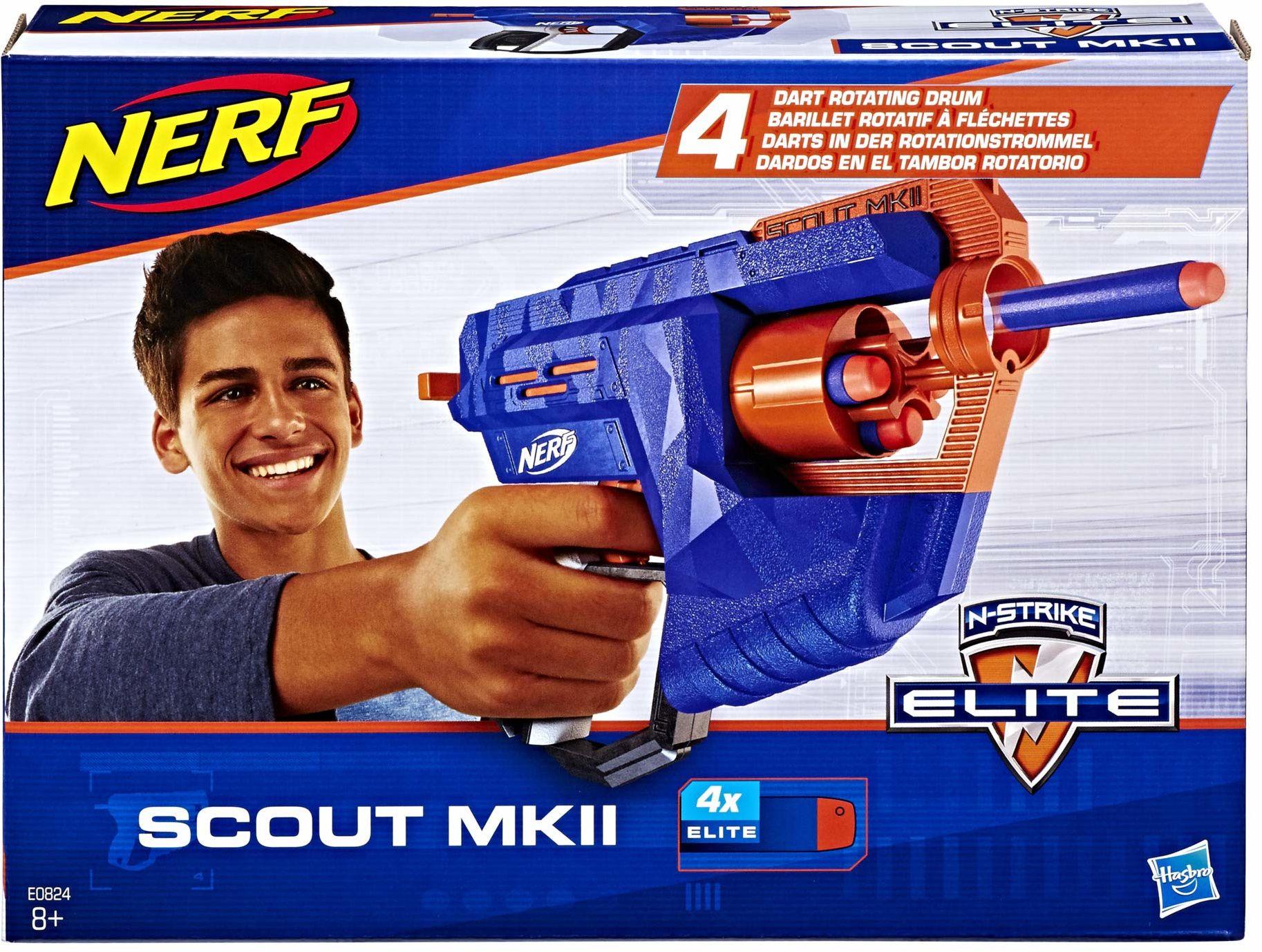 NERF E0824EU4 Ner Elite Scout Mkii ,n/d