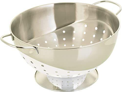 Prestige Rozwiązania kuchenne stal nierdzewna 22 cm durszlak - biały
