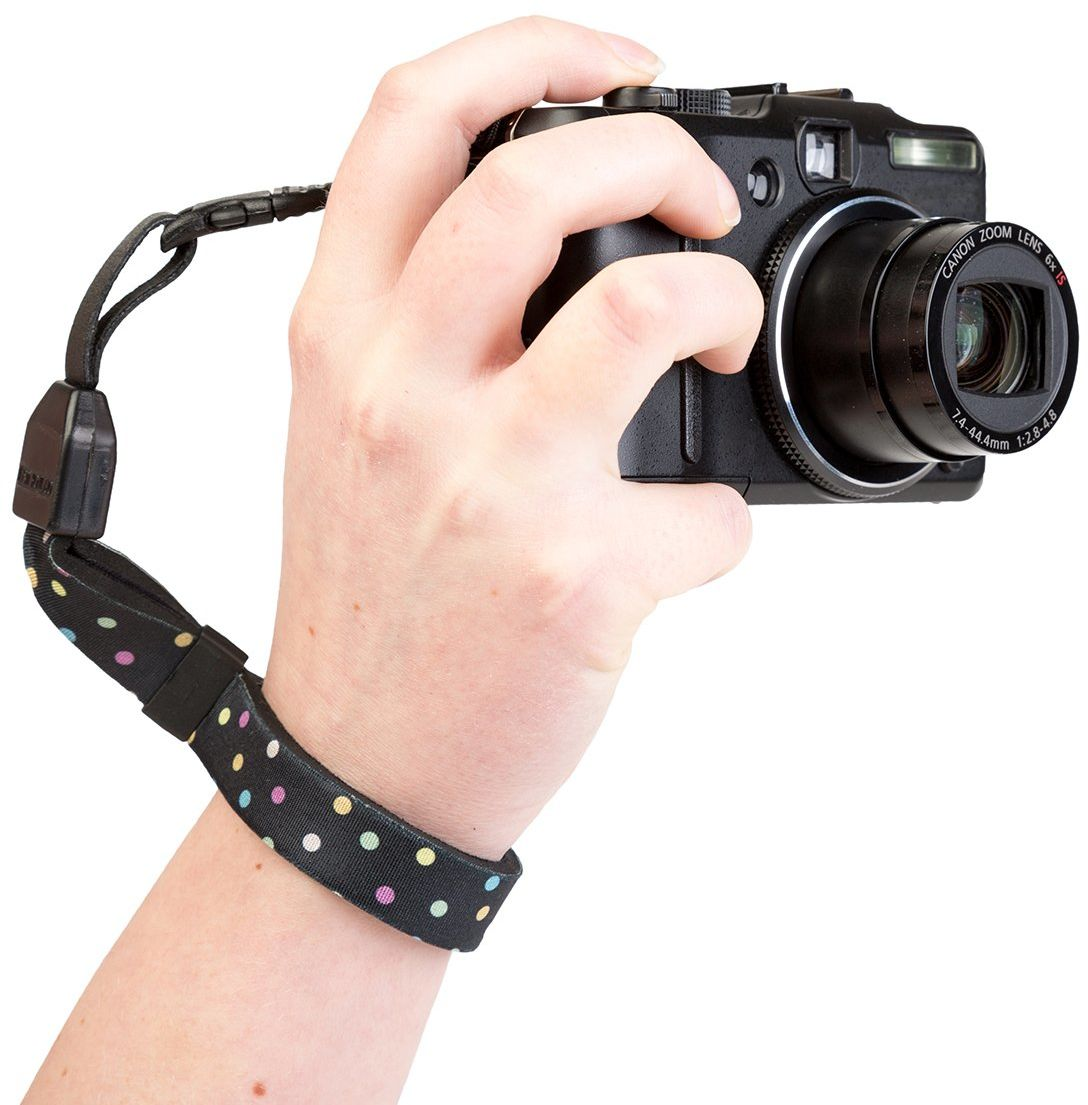 Optech USA 1824021 pasek do noszenia do aparatów cyfrowych, w kropki