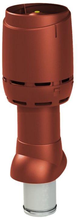 VILPE Kominek wentylacyjny izolowany FLOW 125P/IS/500 Czerwony - Największy wybór - 28 dni na zwrot - Pomoc: +48 13 49 27 557