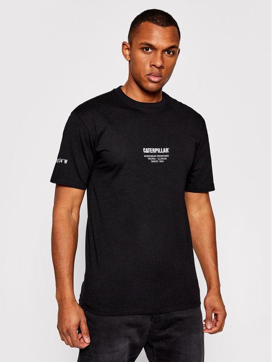 CATerpillar T-Shirt 2511549 Czarny Regular Fit