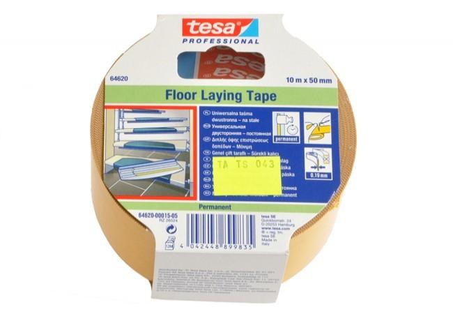 Taśma do wykładzin Tesa standard długość 10 m, szerokość 50 mm (56171-00009-01)