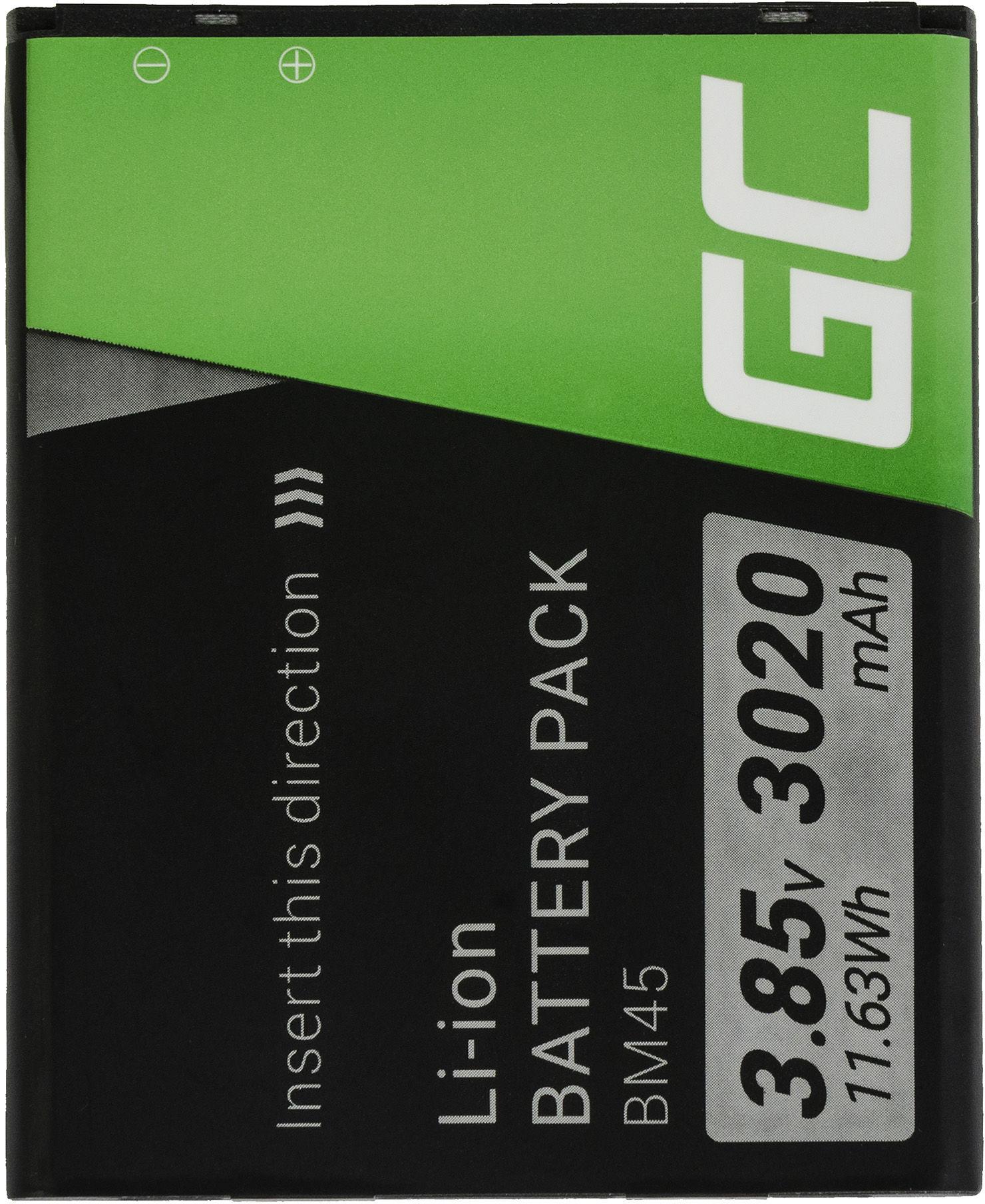 Bateria Green Cell BM45 do telefonu Xiaomi Redmi Note 2