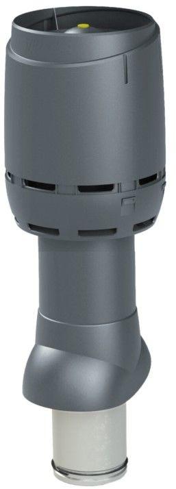 VILPE Kominek wentylacyjny izolowany FLOW 125P/IS/500 Szary - Największy wybór - 28 dni na zwrot - Pomoc: +48 13 49 27 557
