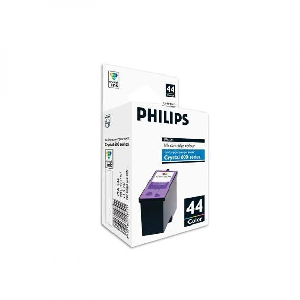 Philips oryginalny ink PFA 544, color, 500s, 11,5ml, typ 44, Philips 650, 660, 665