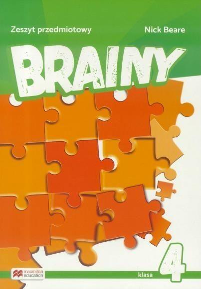 Brainy 4 Zeszyt przedmiotowy ZAKŁADKA DO KSIĄŻEK GRATIS DO KAŻDEGO ZAMÓWIENIA