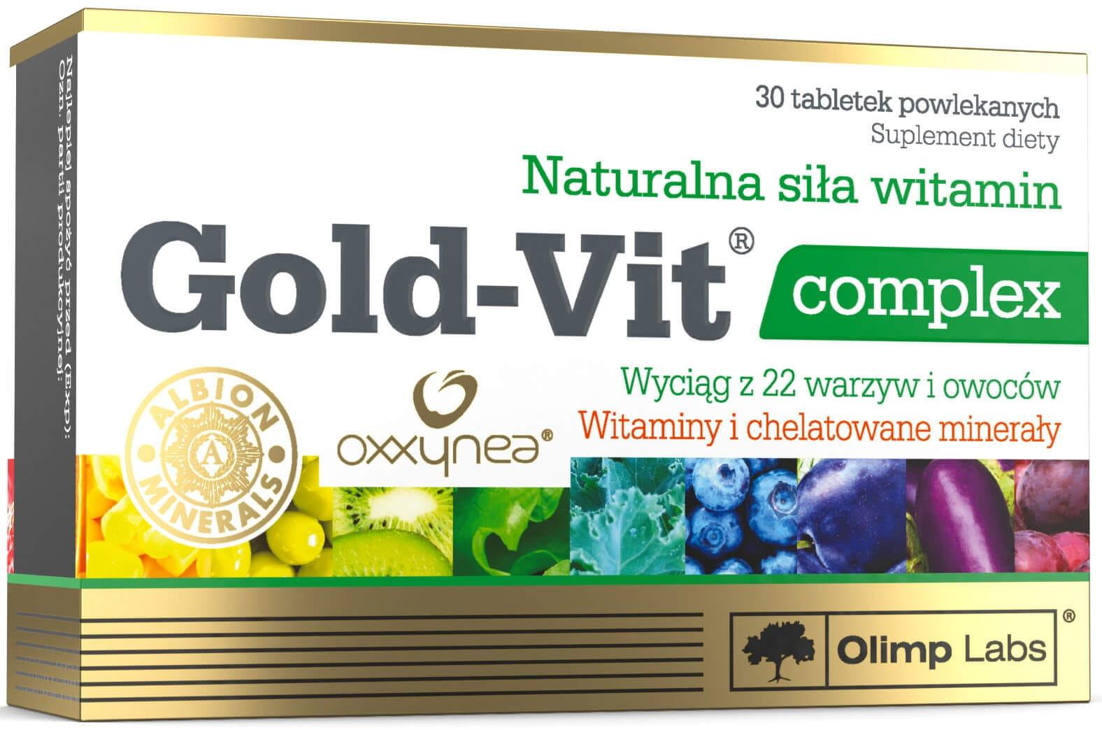 Gold-Vit C  Complex Suplement Diety 30 Tabletek - Olimp Labs
