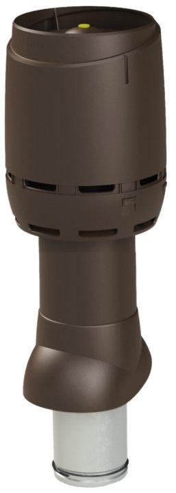 VILPE Kominek wentylacyjny izolowany FLOW 125P/IS/500 Brązowy - Największy wybór - 28 dni na zwrot - Pomoc: +48 13 49 27 557