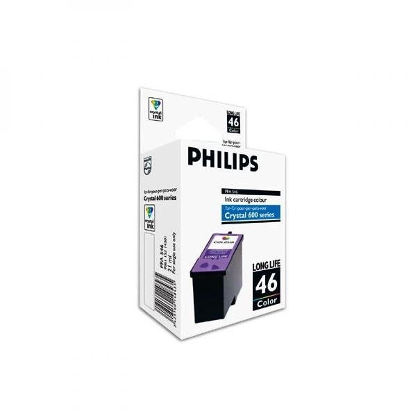 Philips oryginalny ink PFA 546, color, 1000s, high capacity, Philips Crystal 650, 660, 665, 680