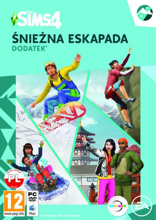 The Sims 4 Śnieżna Eskapada - Klucz aktywacyjny Origin Automatyczna wysyłka w ciągu 5 minut 24/7!