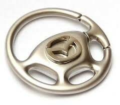 KeyChain Ltd. Brelok metalowy kierownica - Mazda