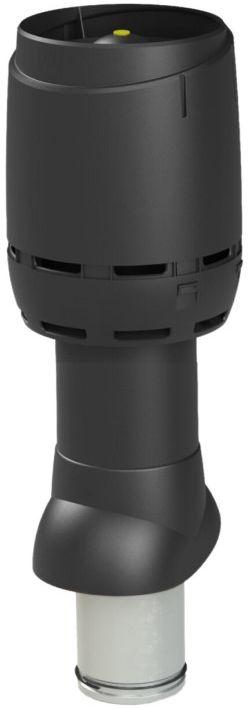 VILPE Kominek wentylacyjny izolowany FLOW 125P/IS/500 Czarny - Największy wybór - 28 dni na zwrot - Pomoc: +48 13 49 27 557