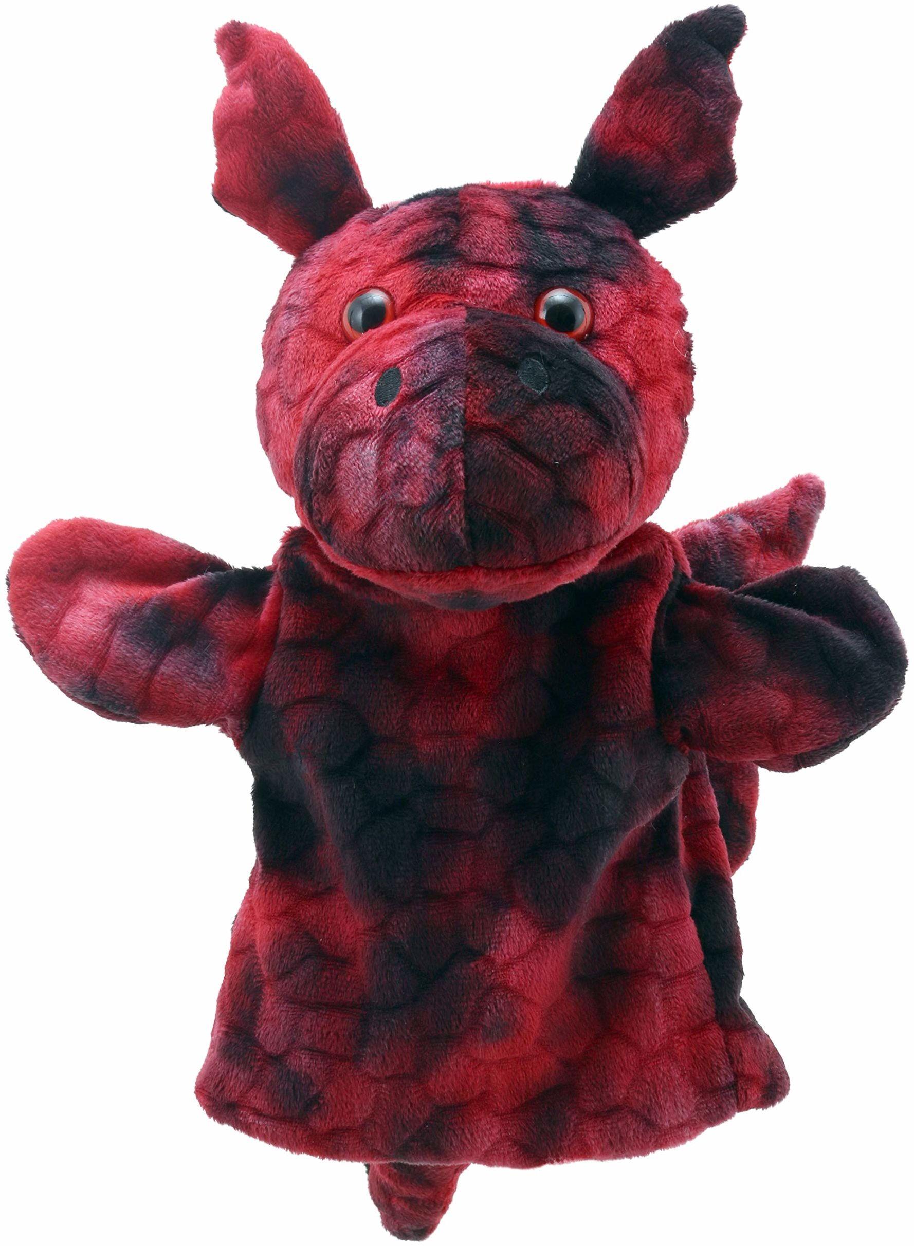 The Puppet Company - Zwierzęta laleczki kumple - smok (czerwony)