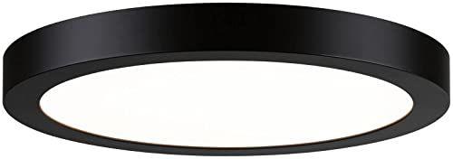 Panel LED Abia okrągły 300 mm 22 W 2700 K czarny matowy