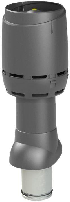VILPE Kominek wentylacyjny izolowany FLOW 125P/IS/500 Antracyt - Największy wybór - 28 dni na zwrot - Pomoc: +48 13 49 27 557