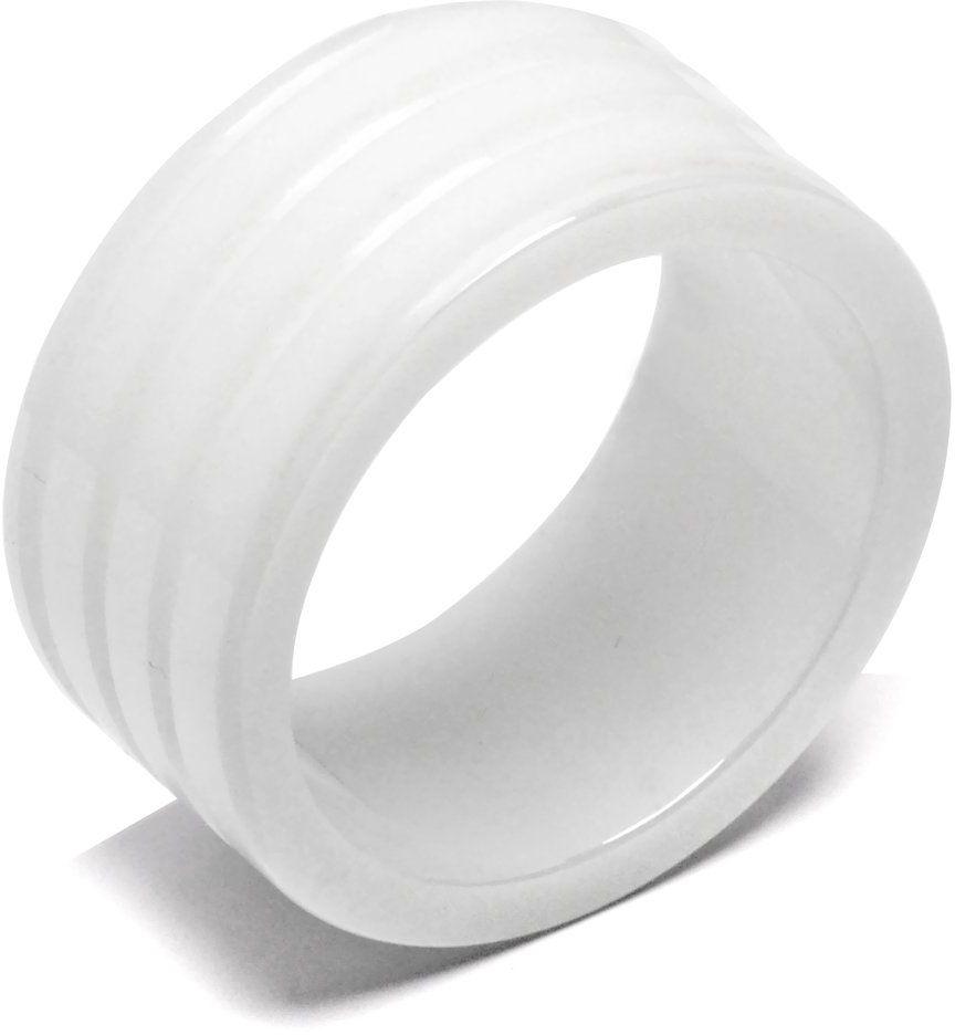 Obrączka Biała Ceramika