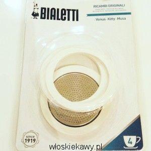 Uszczelki do kawiarek stalowych Bialetti 4 tz