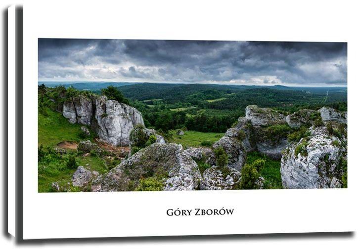 Góra zborów - obraz na płótnie wymiar do wyboru: 40x30 cm