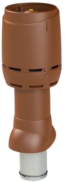 VILPE Kominek wentylacyjny izolowany FLOW 125P/IS/500 Czekoladowy - Największy wybór - 28 dni na zwrot - Pomoc: +48 13 49 27 557