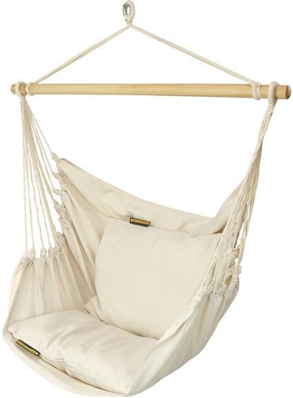 Fotel hamakowy, ecru HC10