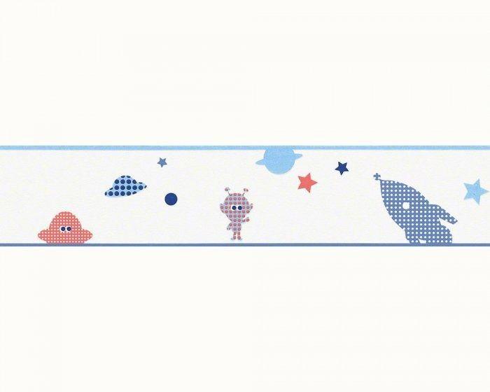Pasek dekoracyjny rakiety ufo i kosmici 94126-3 esprit kids 3 border