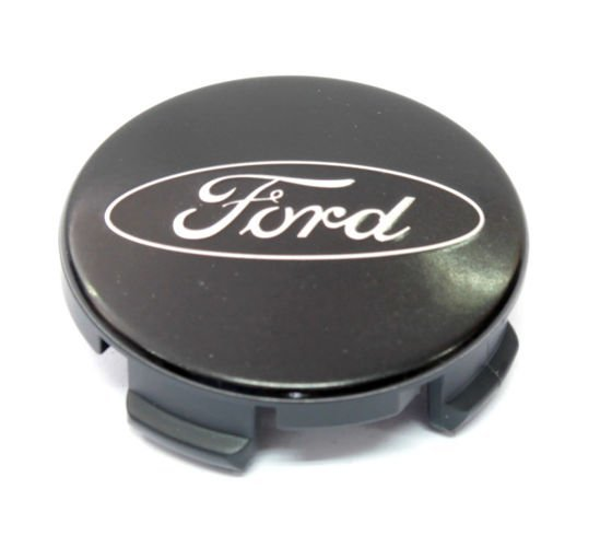 kołpak felgi aluminiowej (dekielek) Ford - 55,00 mm - CZARNY mat