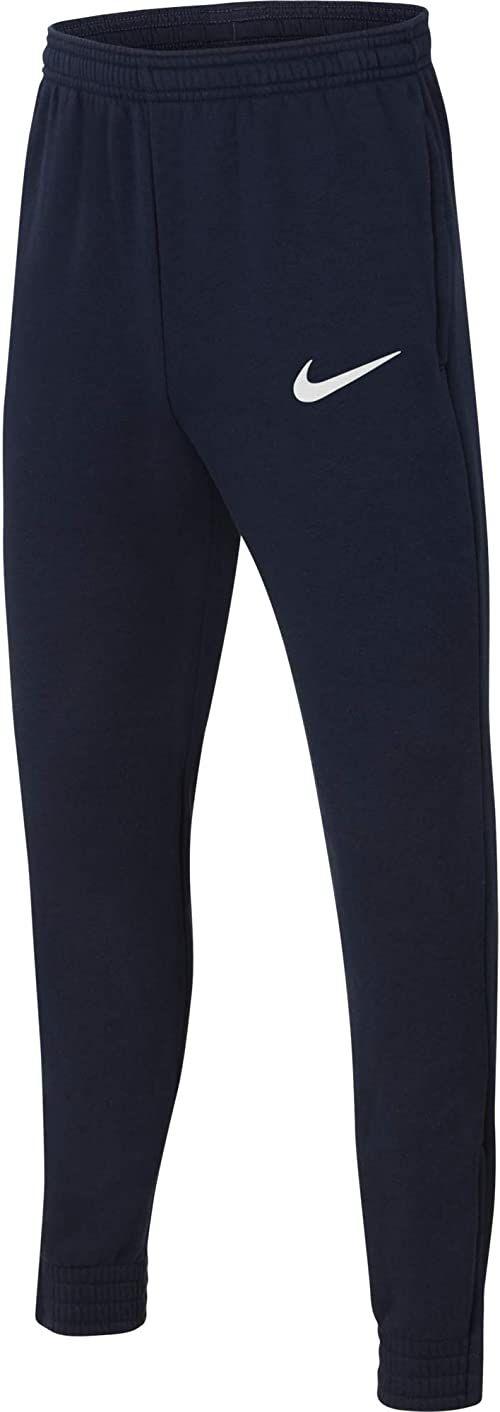 Nike Spodnie dresowe dla chłopców Park 20 Obsydian/biały/biały S