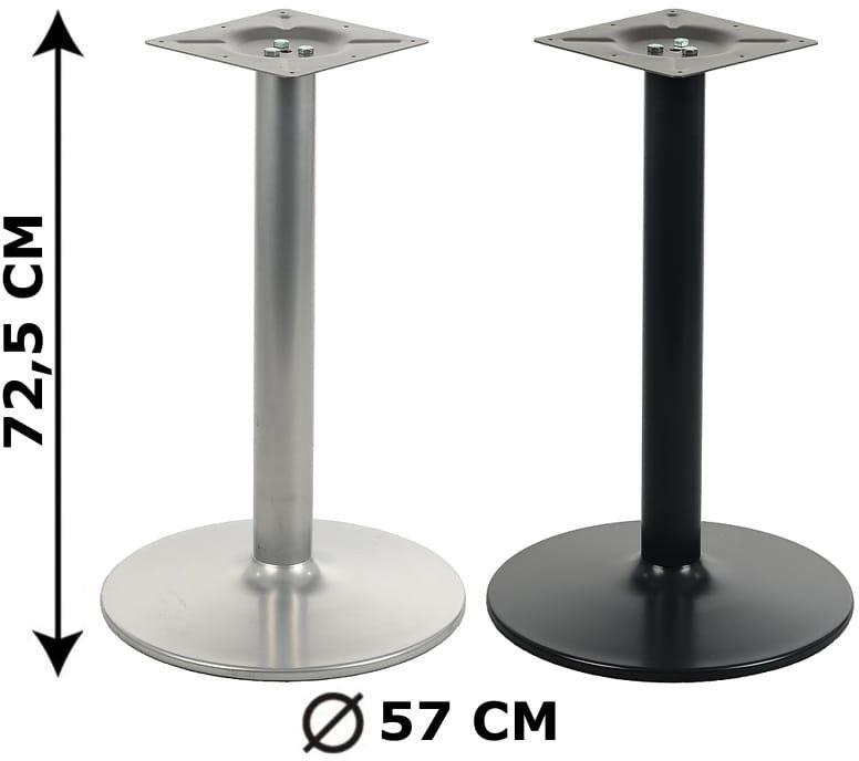 Podstawa stolika NY-B006, 2 kolory, śr. Podstawy fi 57 cm (stelaż stolika, stołu)