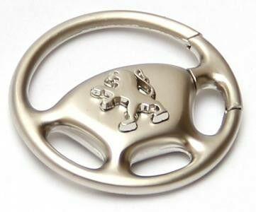 KeyChain Ltd. Brelok metalowy kierownica - Peugeot