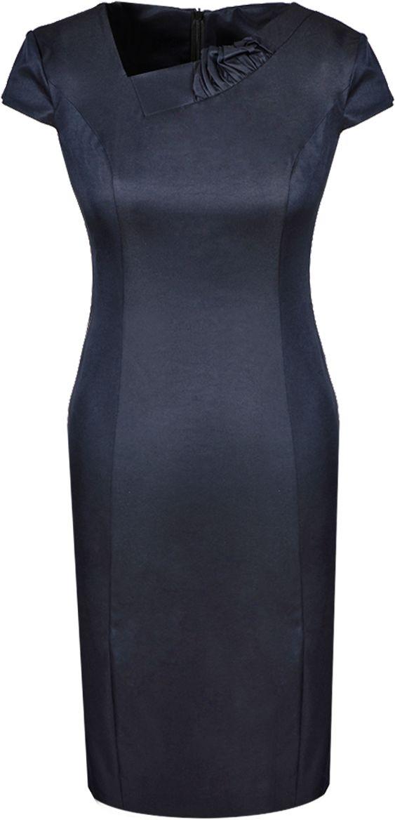 Sukienka FSU634 GRANATOWY