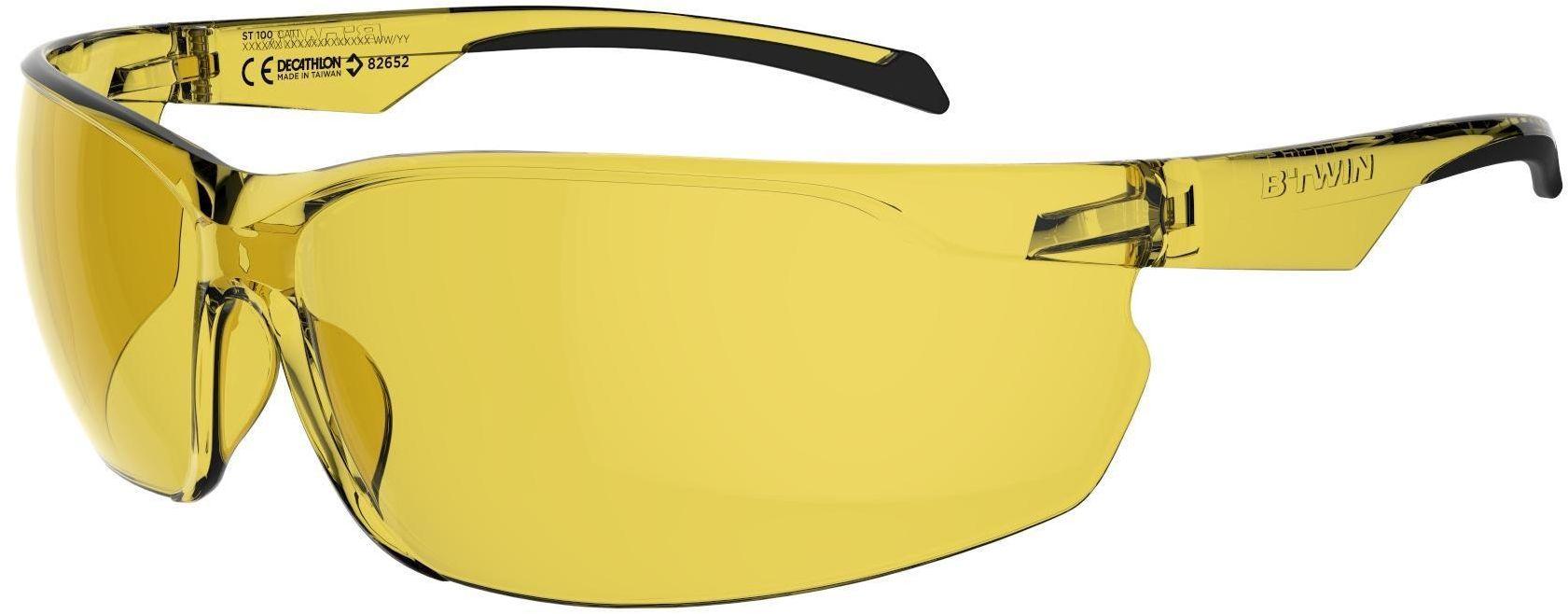Okulary na rower ST100 KAT. 1