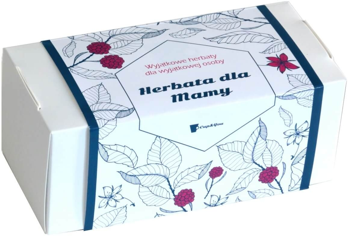 Duży Zestaw Herbat dla Mamy - prezent upominek na Dzień Matki 21 smaków x 5g