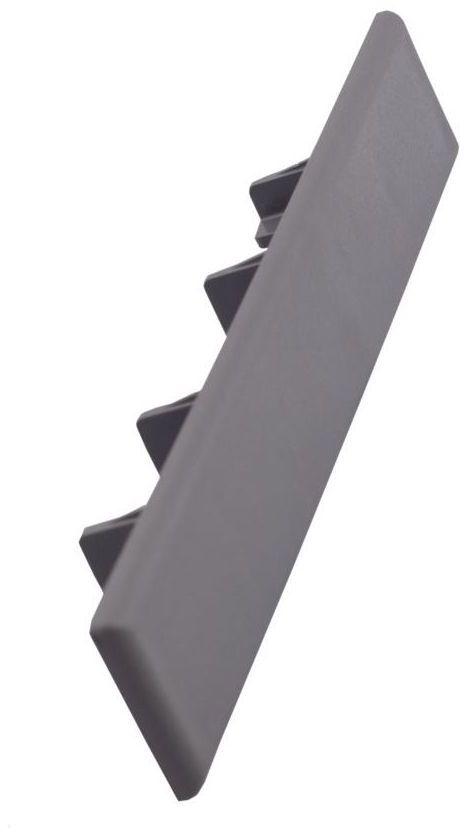 Zaślepka do desek kompozytowych GALA szara 12 szt. 15 x 2.5 cm DLH