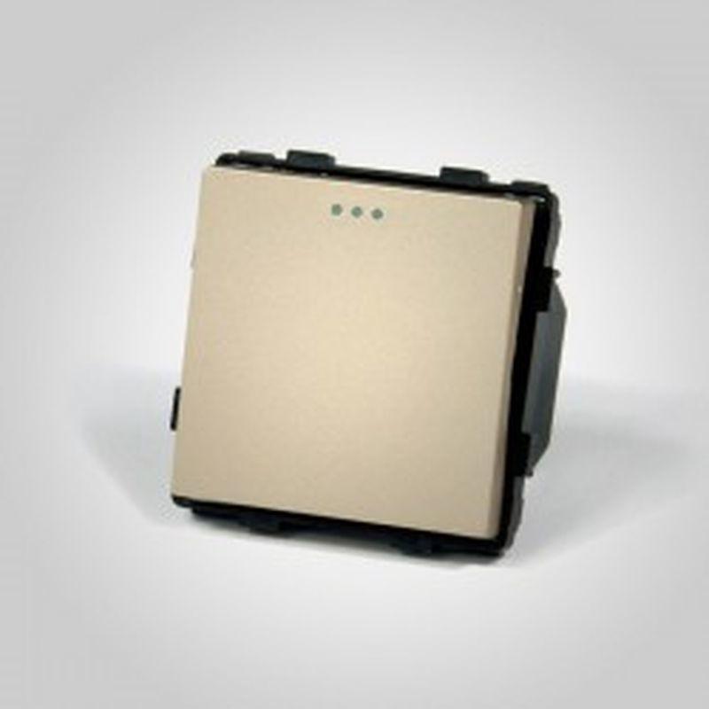TouchMe Mechanizm łącznik pojedynczy schodowy złoty ME602G