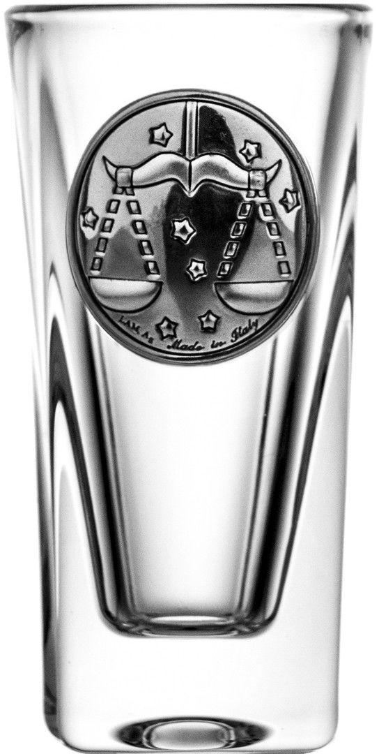 Kieliszek do wódki znak waga kryształ 15067
