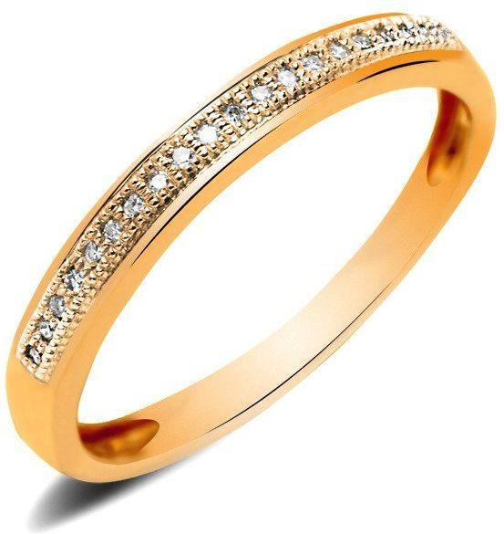 Obrączka Srebrna Pokryta Różowym Złotem