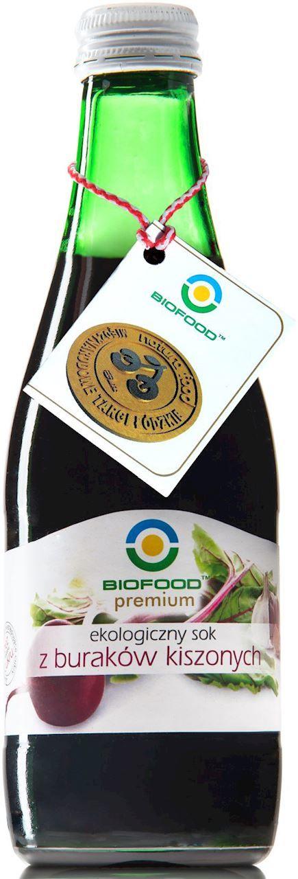 Sok z buraka kiszony bio 300 ml - bio food