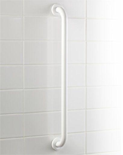 Uchwyt łazienkowy dla niepełnosprawnych prosta Bisk PRO  25 60 cm stal biała