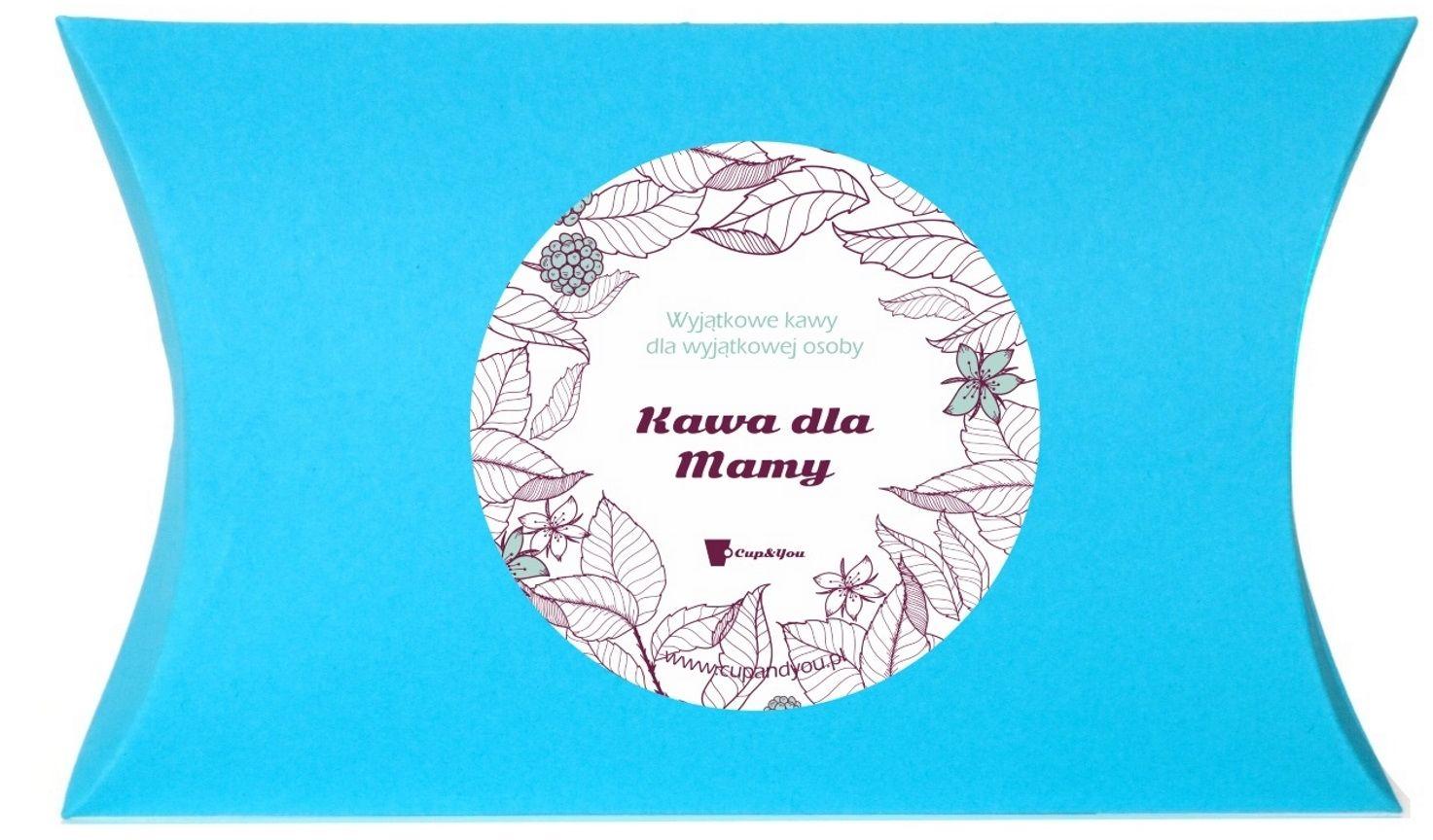 Zestaw Kaw dla Mamy - prezent upominek dla mamy z okazji Dnia Matki z kawą mieloną Arabica - 10 smaków x 10g