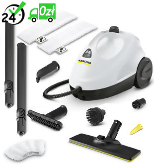 SC 2 Premium Home Line EasyFix Parownica, mop parowy Karcher ZABIJA WIRUSY I BAKTERIE