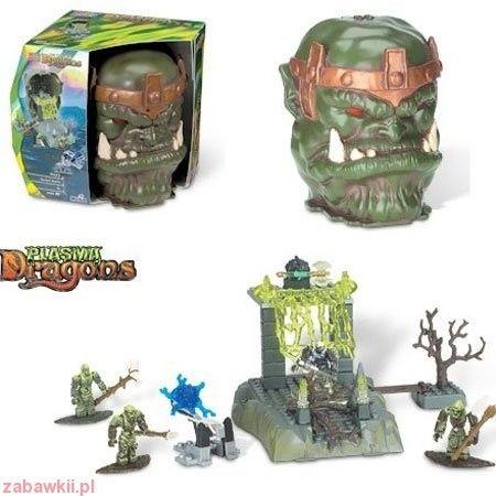 Mega Bloks Dragons - Głowy i Czaszki Ravine Battle 9428