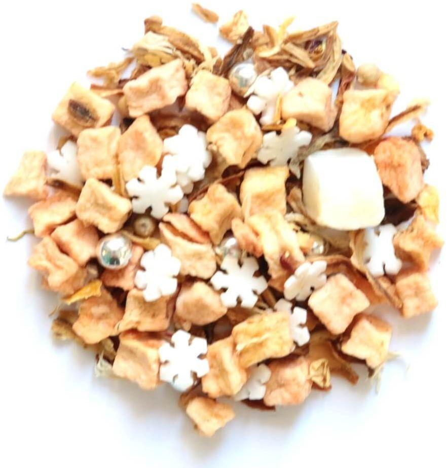 Herbata owocowa smakowa biały diament 150g