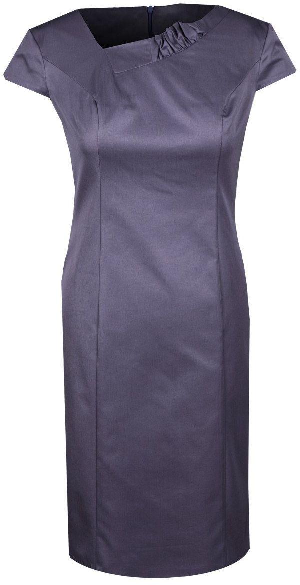 Sukienka FSU634 FIOLETOWY