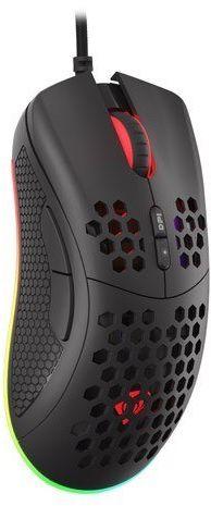 NATEC Mysz Genesis Krypton 550 8000 DPI podświetlenie RGB dla graczy lekka