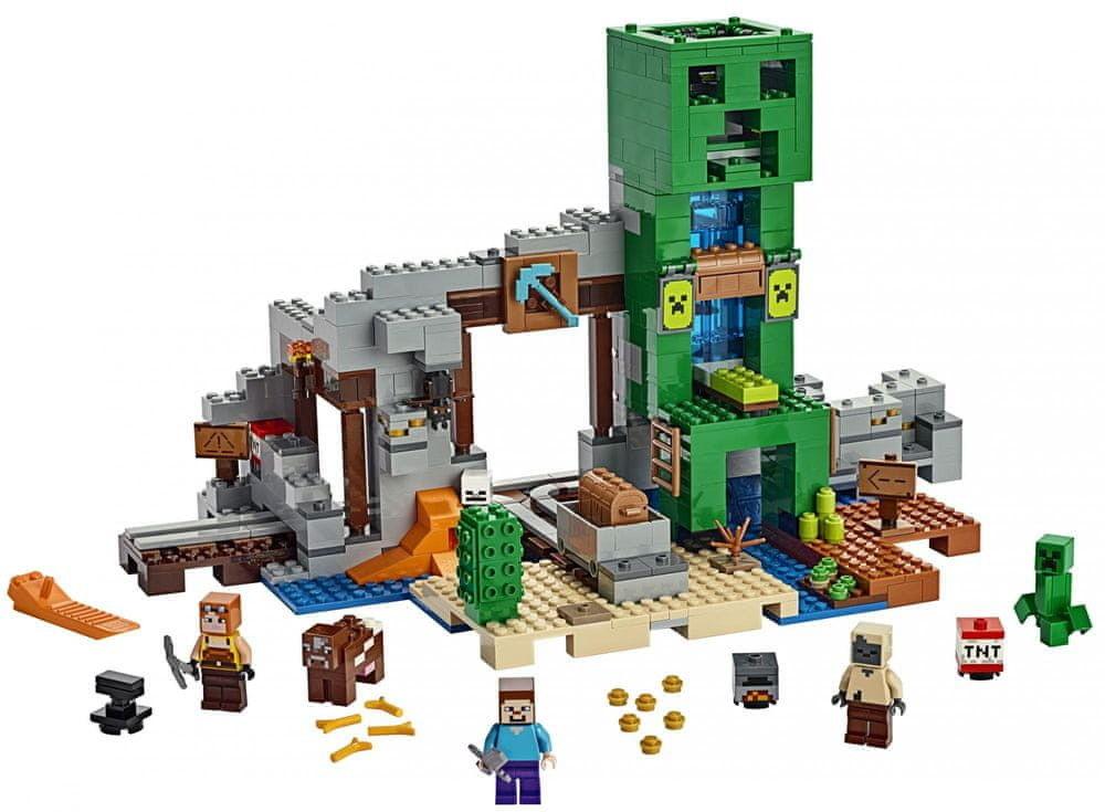 LEGO - MINECRAFT - KOPALNIA CREEPERÓW - 21155