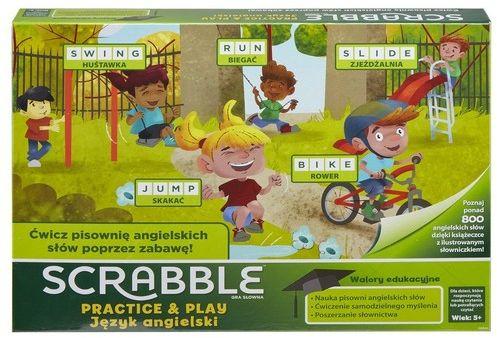 Mattel. GGB32 Scrabble Practice and Play ZAKŁADKA DO KSIĄŻEK GRATIS DO KAŻDEGO ZAMÓWIENIA