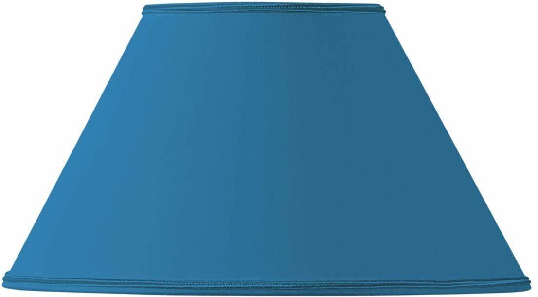 Klosz lampy w kształcie wiktoriańskim, 20 x 09 x 12 cm, jasnoniebieski