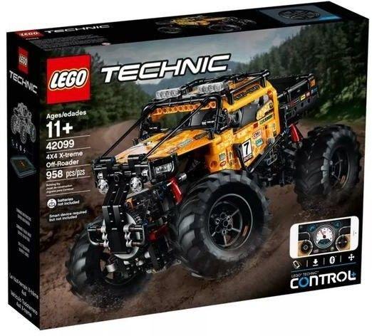 LEGO - TECHNIC - ZDALNIE STEROWANY POJAZD TERENOWY - 42099