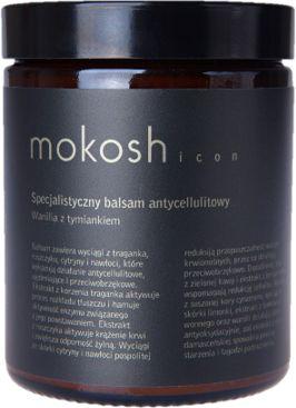 Mokosh ICON Specjalistyczny antycellulitowy balsam do ciała wanilia z tymiankiem 180ml