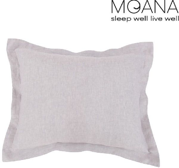 Poszewka na poduszkę lniana MOANA Silver Birch, Rozmiar - 70x80, Kolor - light grey WYPRZEDAŻ, WYSYŁKA GRATIS, 603-671-572